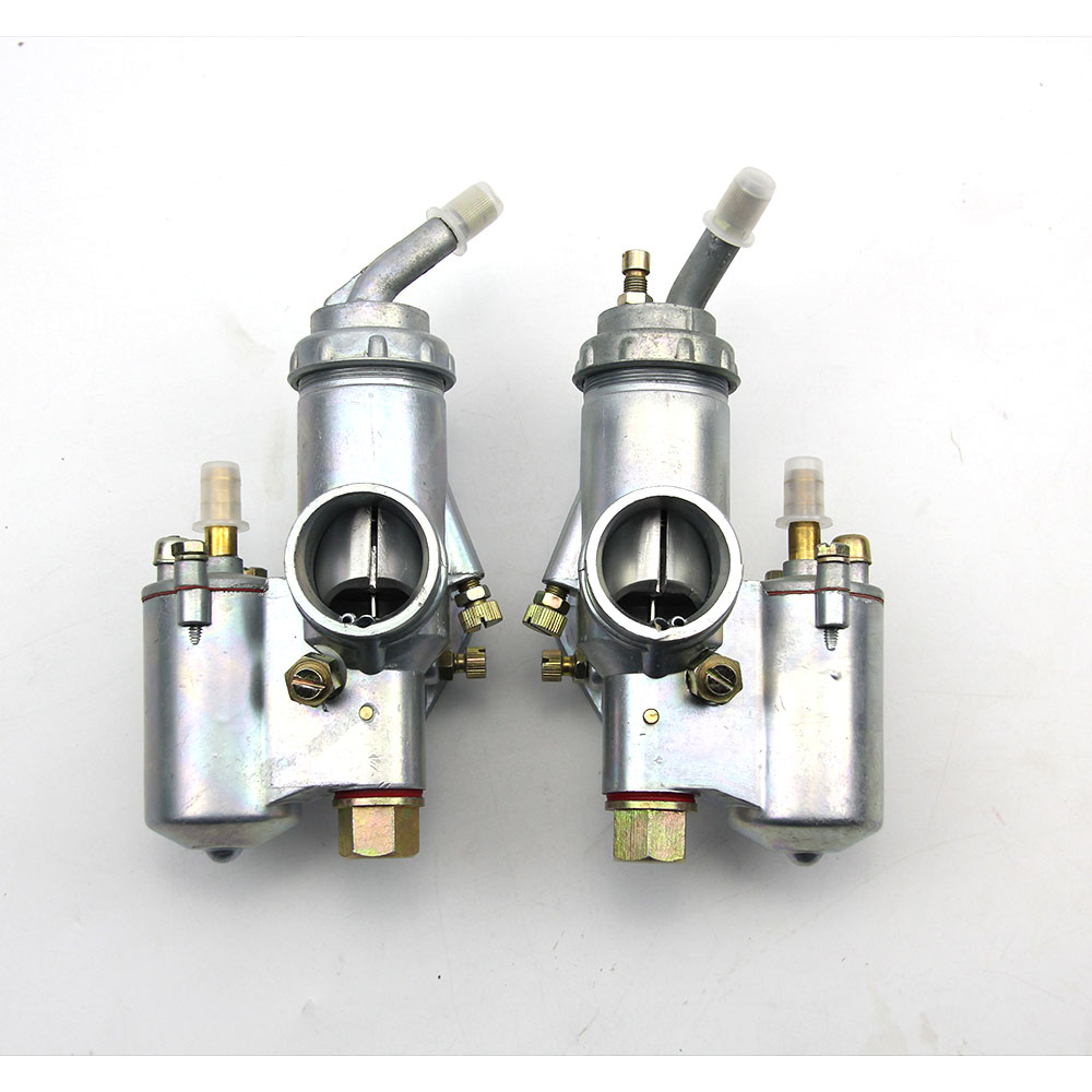100 original CJ K750 model 1 pairs Left and Right carburetor PZ28 case for bmw R1