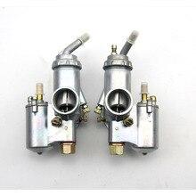 100% الأصلي CJ K750 نموذج 1 أزواج اليسار واليمين المكربن PZ28 الحال بالنسبة bmw R1 M72 الاورال
