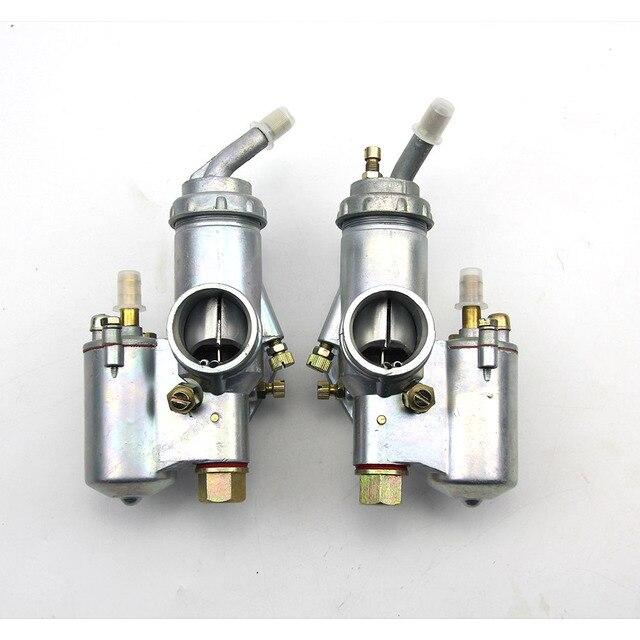 100% מקורי CJ K750 דגם 1 pairs שמאל וימין קרבורטור PZ28 מקרה עבור bmw R1 M72 אוראל