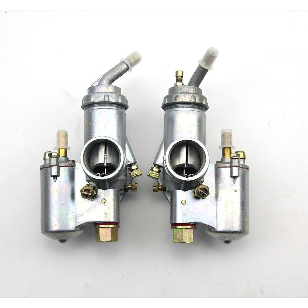 100% original CJ-K750 modèle 1 paires gauche et droite carburateur PZ28 cas pour bmw R1 M72 Ural