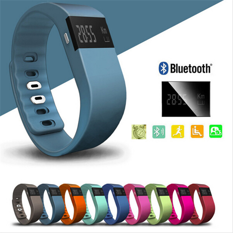 M&J Smart band Fitness Tracker Bluetooth Wristband Smart Pedometer Ապարանջան iPhone- ի համար Samsung Smartband TW64 PK Fitbit Mi band