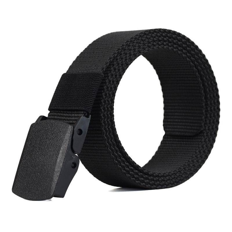 110-140cm Outdoor Nylon Belt Male Army Military Tactical Belt Men's Waist Canvas Belts Cummerbunds Strap