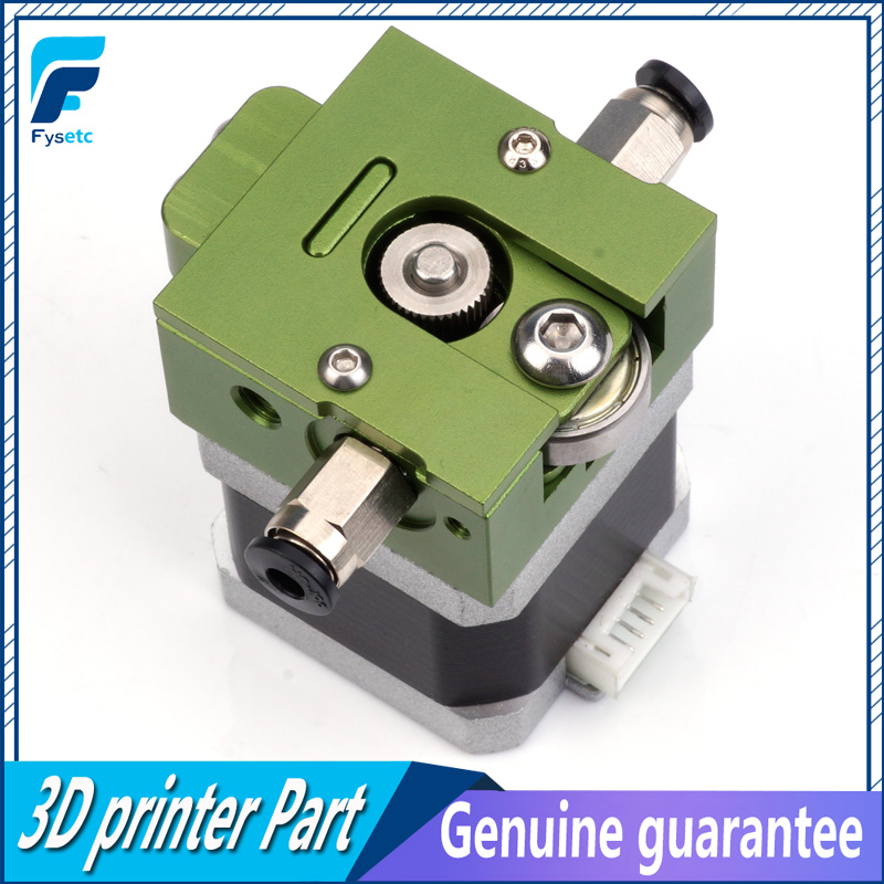 1Set Green DIY Reprap Bulldog All-metal Extruder For 1.75mm Compatible J-head MK8 Extruder Remote Proximity For 3D Printer Parts green j looking for alaska