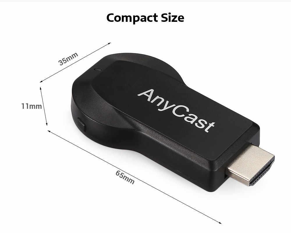 128 M Anycast M2 M9 Plus Miracast wszelkie obsada AirPlay TV stick HDMI bezprzewodowy odbiornik i odtwarzacz plików multimedialnych Dongle dla IOS Andriod