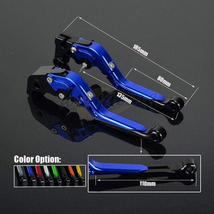 CNC Adjustable Motorcycle Billet Foldable Pivot Extendable Clutch & Brake Lever For YAMAHA TDM900 TDM 900 2012-2014 12 13 14 cnc adjustable motorcycle billet foldable pivot extendable clutch