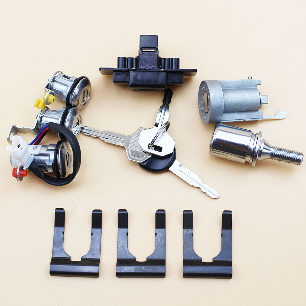*NEW* Key Lock Cylinder Set Ignition//Glove Box//Console//Tail Gate//Spare Tire//Door