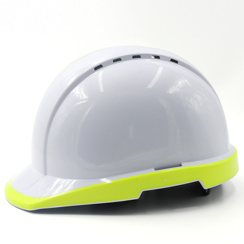 Safety Helmet Fluorescent Hard Hat Construction Protective Helmets Work Cap Breathable Labor Engineering Power Rescue Helmet