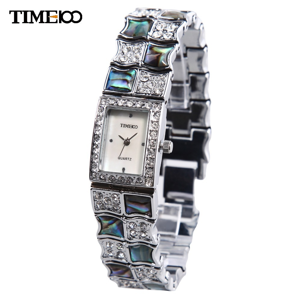 New TIME100 Retro Women Watch Bracelet Jewelry Clasp Alloy Strap Shell Dial Quartz Wrist Watch For Women mujer orologio da polso free shipping 1pair steering link for 1 5 traxxas x maxx 77076 4 rc monster truck 173mm spare parts 7748