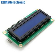 1pcs Blue Display IIC/I2C/TWI/SPI Serial Interface 1602 16X2 LCD Module 1602 lcd i2c
