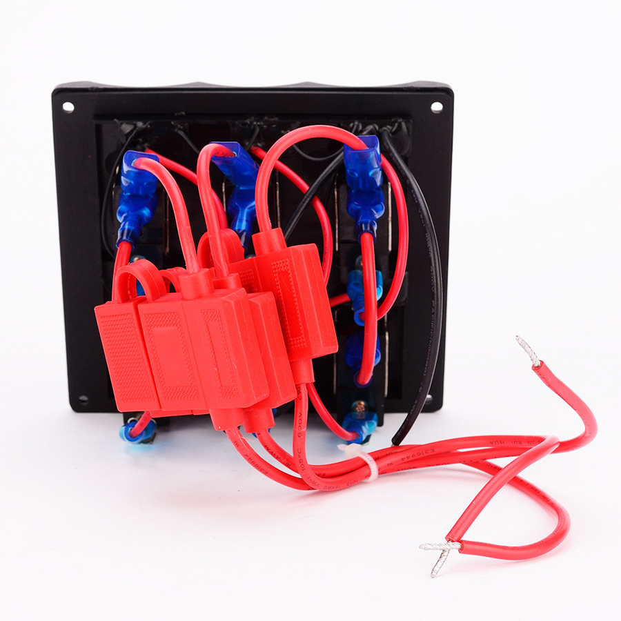 12v 24v Led Marine Boat Car Toggle Switch Panel Switches Yacht Rv Wiring Cockpit Control With Digital Voltmeter Refit Accessory In Relays
