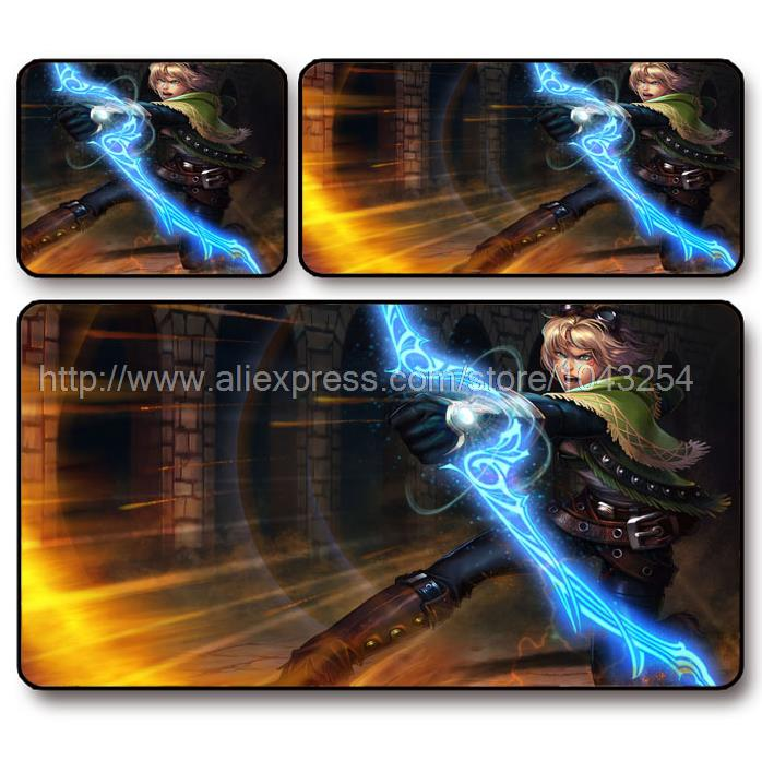 TUSKARR The Prodigal Explorer Ezreal mouse pad , League of ...