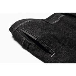 Image 5 - Enjeolon 2020 Nieuwe Heren Jeans Merk Zwarte Jeans Mannen Mode Lange Broek Heren Denim Jeans Broek Kleding Plus Size KZ6141