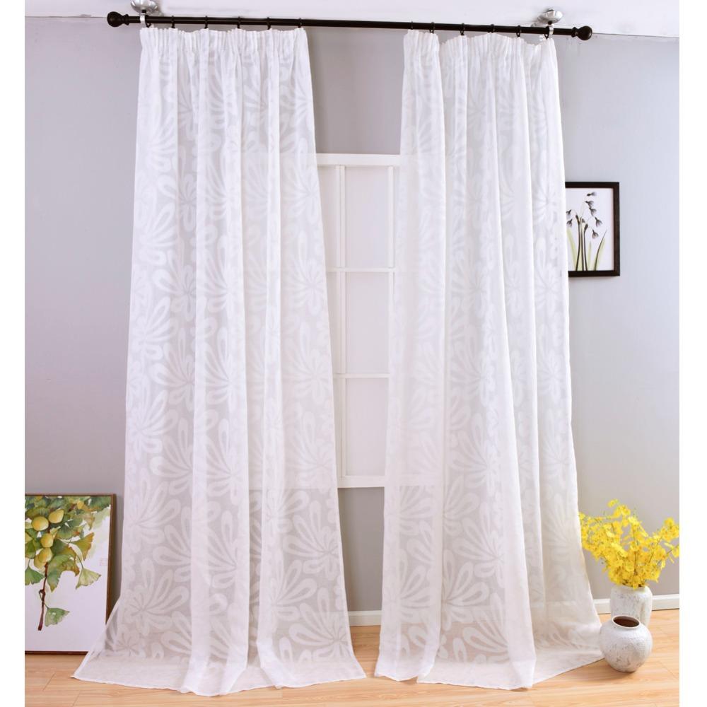 envo libre moderna sala de ventana jacquard saln cocina dormitorio cortinas cortina de lino de imitacin