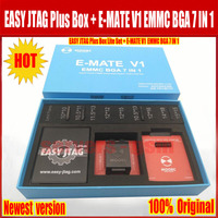 New Easy jtag plus box with E MATE V1 Emate box EMMC BGA 7 IN 1 Support 4 kinds of EMMC encapsulation Support 7 kinds of chips