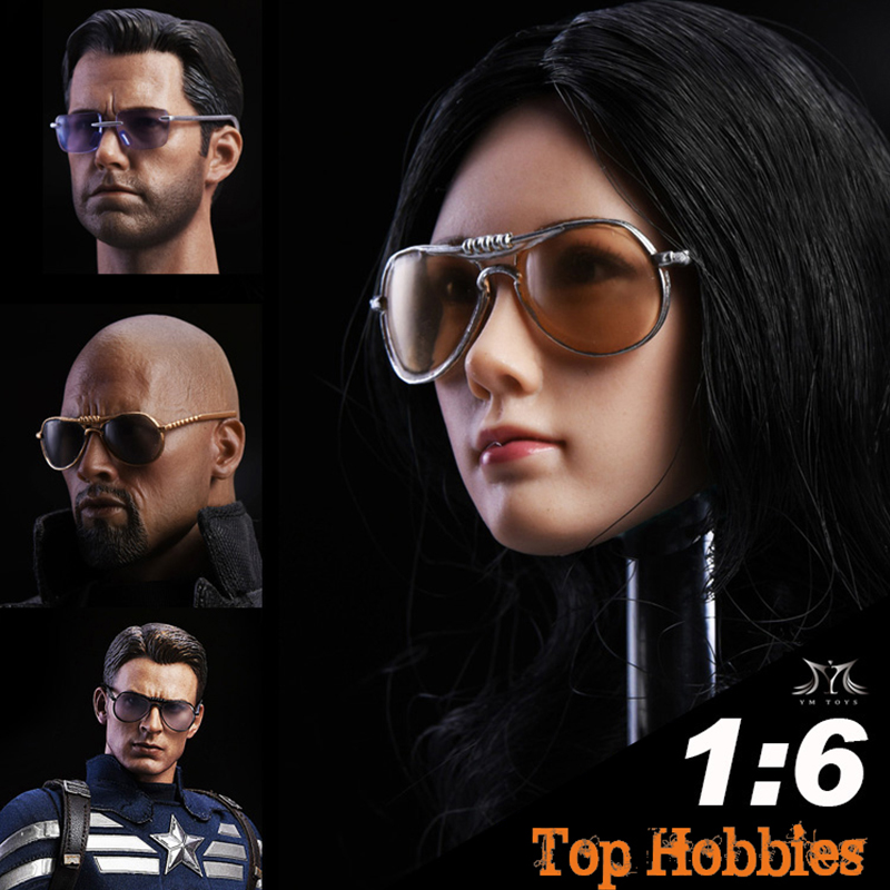 """1//6 Hot Glasses Eyewear for 12/"""" Action figure Toys"""