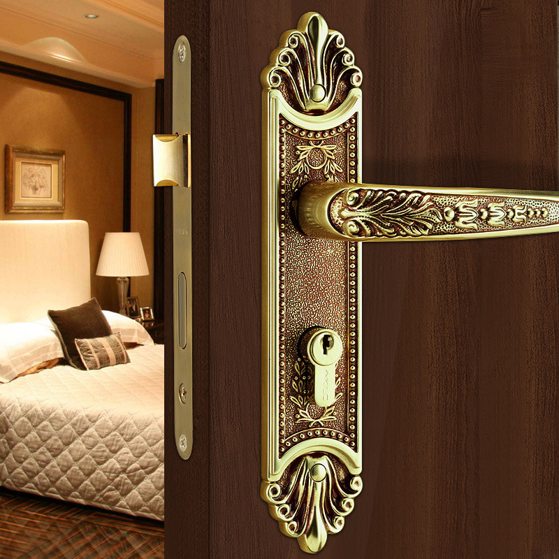 wood door interior bedroom handle locks quiet simple wood bedroom door