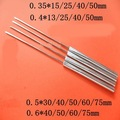 free shipping EACU Disposable blade acupuncture needles flat edge massage needle aluminum handle blade needle