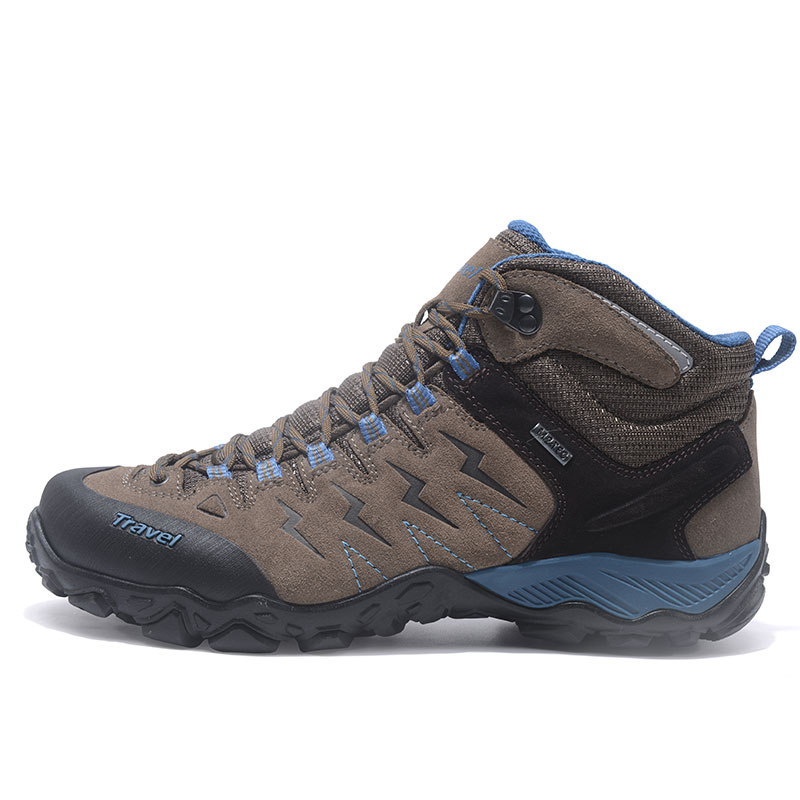 9ee9cc6ee4a MERRTO Men s Hiking Shoes Comfortable Outdoor Sports Shoes Non Slip  Breathable Rock Climbing Boots Flexible Free Walking Shoes-in Hiking Shoes  from Sports ...