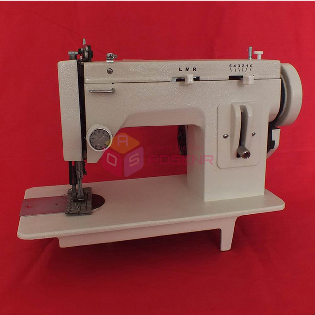 Portable Walking Foot Zigzag Stitch 40'' Inch Arm Sewing Machine Simple Walking Foot Zig Zag Sewing Machine
