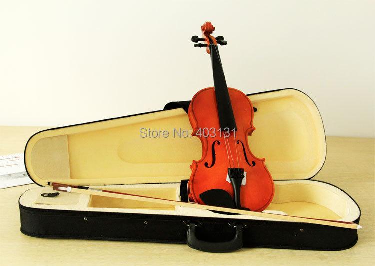 acoustic violin classical orange bailing violin 1 4. Black Bedroom Furniture Sets. Home Design Ideas