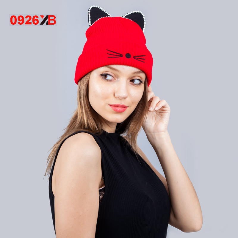 Buy woman winter hat fur ears and get free shipping on AliExpress.com af8f2d9c95da