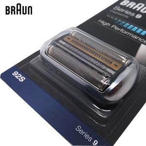Image 3 - Braunn 92s סדרת 9 רדיד & קאטר החלפת ראש קלטת מכונת גילוח גילוח להב 9030s 9040s 9050cc 9090cc 9095cc
