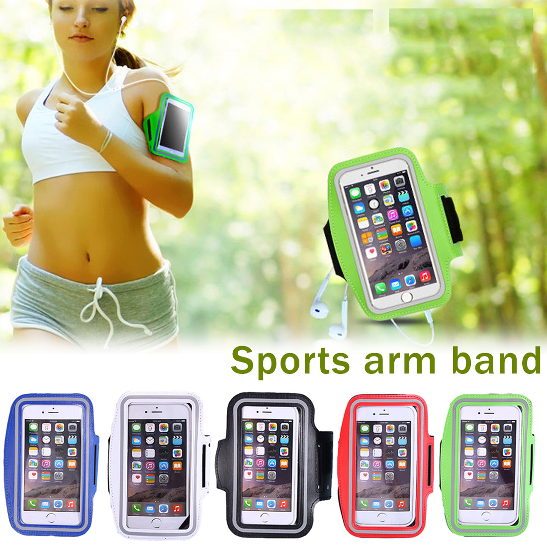 Mobile Phone Accessories Cellphones & Telecommunications Armband For Nokia Lumia 515 Sports Running Jogging Arm Band Cell Phone Holder Pouch Bag Case For Nokia Lumia 515 Phone On Hand Consumers First