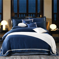 2017 Home Textile Egyptian cotton bedding set for 5star hotel Luxury duvet cover set bed sheet bed linen set bedclothes cover