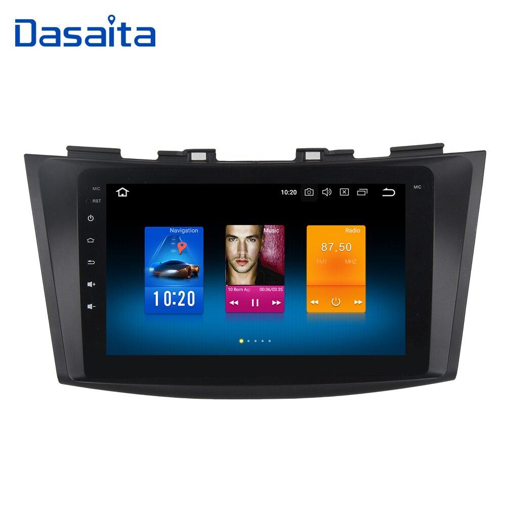 Dasaita Android 9 0 Car Multimedia for Suzuki Swift Ertiga GPS 2011 2012 2013 2014 2015