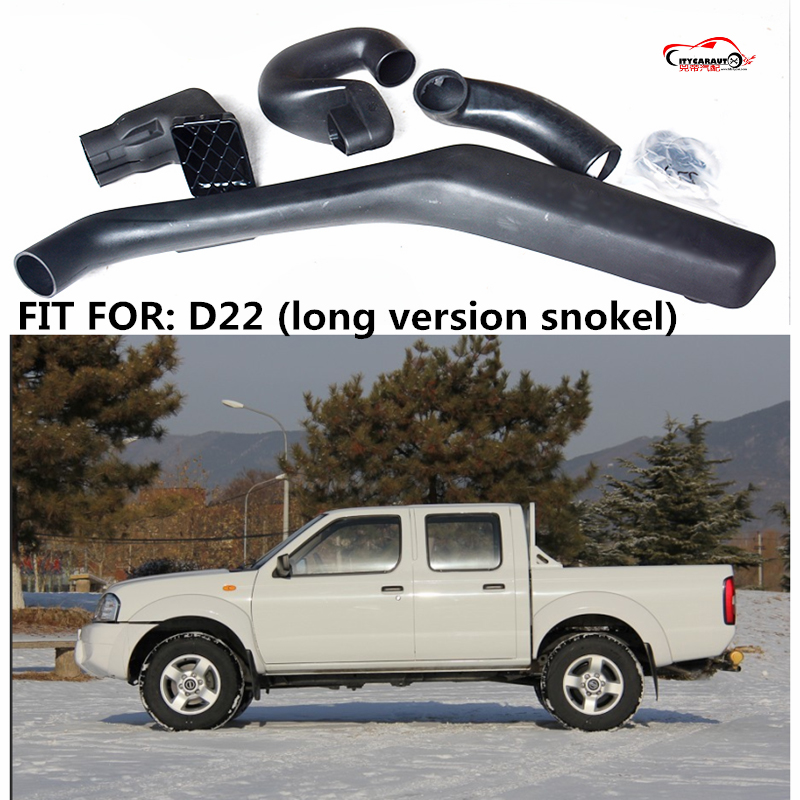 CITYCARAUTO AIR INTAKE SNORKEL KIT AIRFLOW SNORKEL CAR ACCESSROIES FIT FOR D22 LONG VERSION SNOKEL citycarauto 2007 2011 airflow snokel fit for jeep wrangler jk series 3 8l v6 air ram intake snorkel kit black