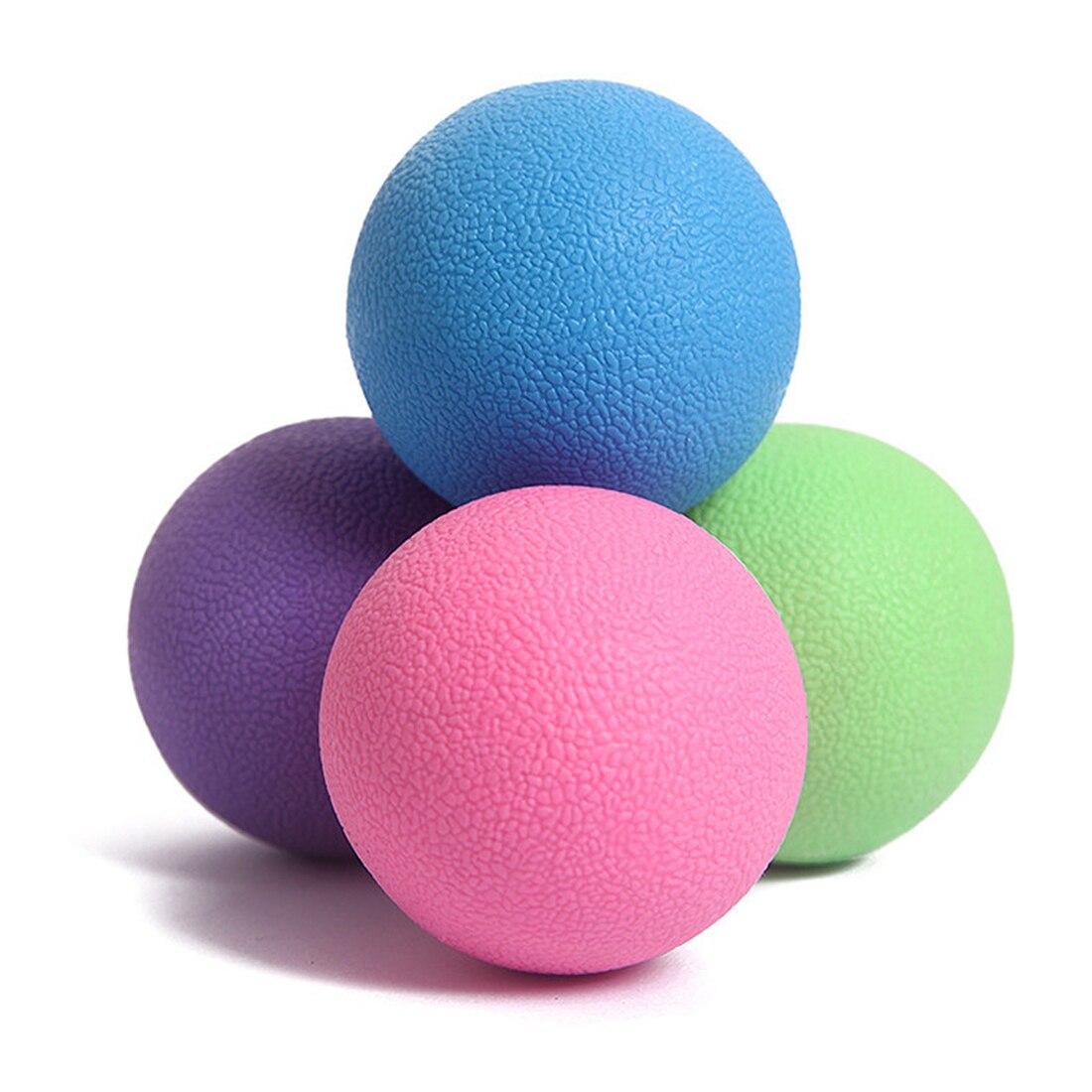 <+>  Body Ball 4 Цвета фитнес Массаж Йога Шарики Мобильность Миофасциальный Триггер Точка Релиз ✔
