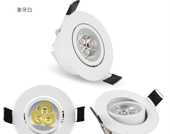 2018 Hot Sale Luces Led Light 90 265v Input 20pc lot Downlights Energy Saving With Excellent