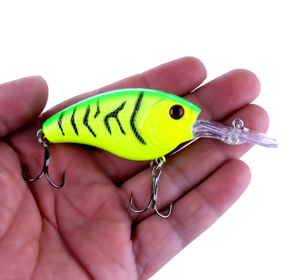 HENGJIA Hard Plastic Crankbaits Artificial Wobblers Trout Catfish Fishing Lures Pesca Catfish Swim Baits 9cm 11.8g 6#hooks