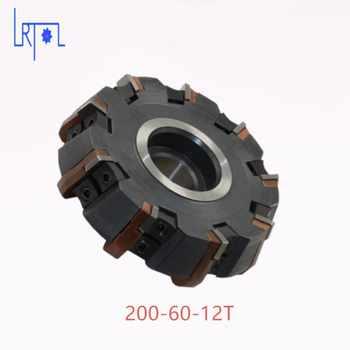 Livraison Gratuite DIa 200*60mm 75 degrés Fraise Outils Pour plaquettes de carbure Convient Pour NC/CNC