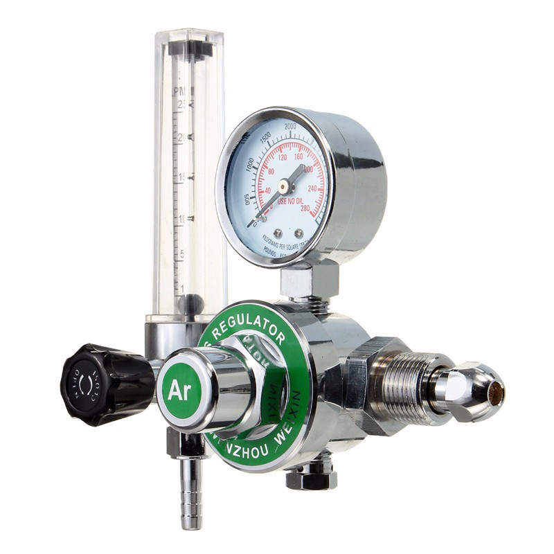 2016 High Quality ARGON CO2 GAS MIG TIG FLOW METER WELDING WELD REGULATOR GAUGE FOR WELDER CGA580 FITS кеды на танкетке mixfeel page 5
