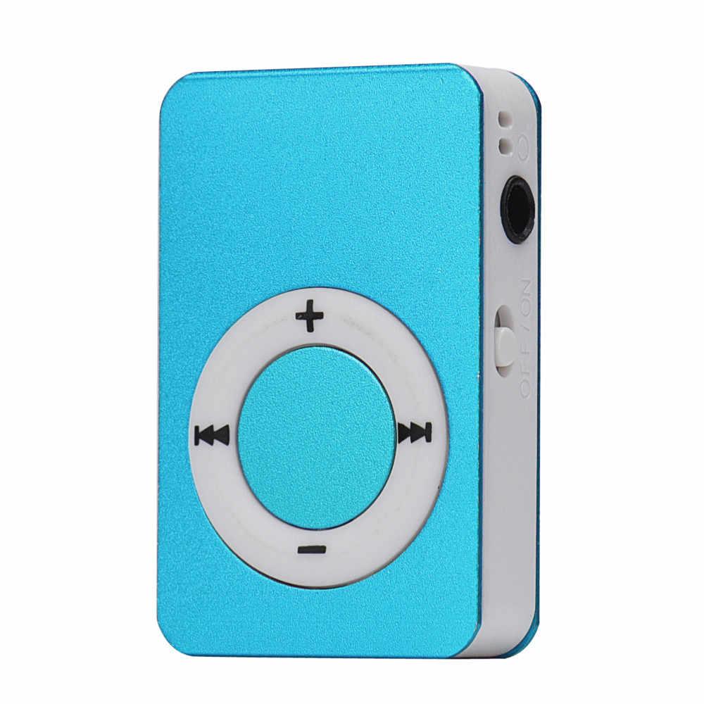 Hiperdal USB صغير MP3 الموسيقى مشغل الوسائط حامل شاشة LCD 16 جيجابايت مايكرو SD TF بطاقة دروبشيب 171219