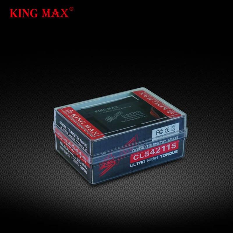 FATJAY KINGMAX CLS4211S 80g 42kg. cm 5,0 8,4 V digital standard telemetrie servo stahl gang voller CNC alu metall wasserdicht für auto-in Teile & Zubehör aus Spielzeug und Hobbys bei  Gruppe 3