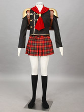 Final Fantasy Type-0 Suzaku Peristylium Class game cosplay Cater cosplay Halloween Costumes