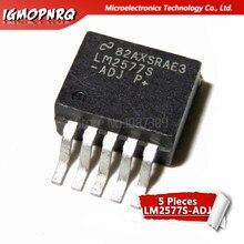 Regulador de tensão 5 peças, LM2577S-ADJ lm2577 2577 a-263-6 regulador de tensão novo