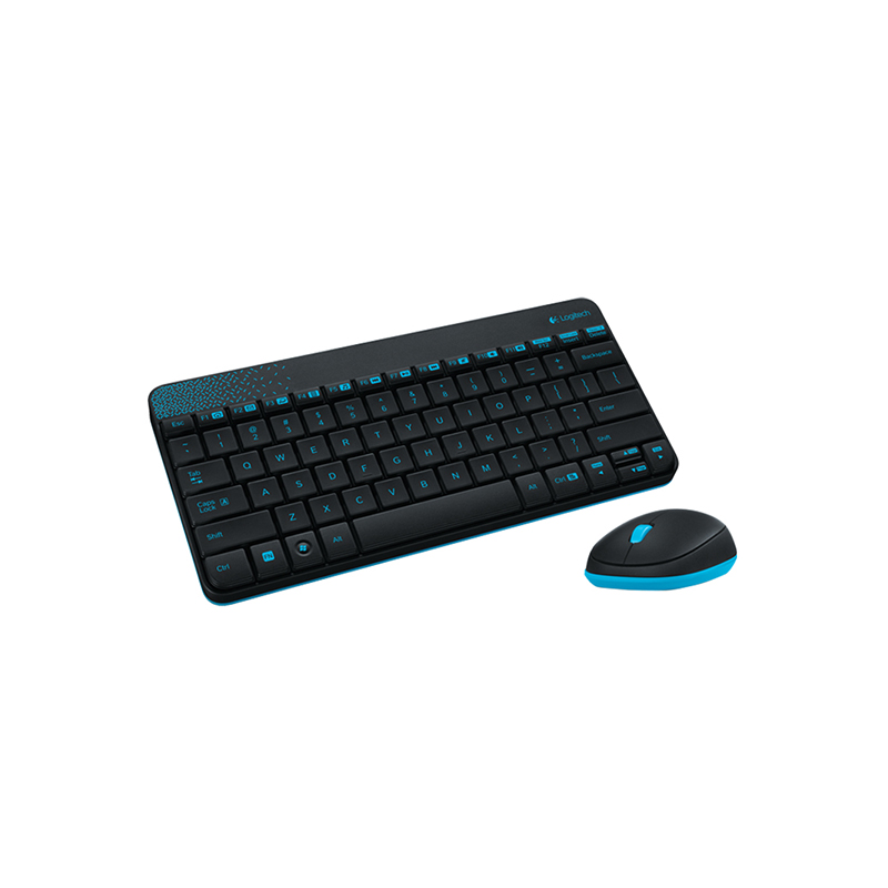 Logitech MK245 Nano Keyboard Mouse Combo Gaming Lap Top PC Gamer