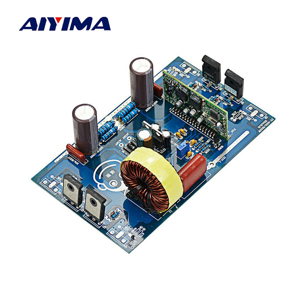 Aiyima 2000W Pure Sine Wave Inverter Power Board Post Sine Wave Amplifier Finished Board цена