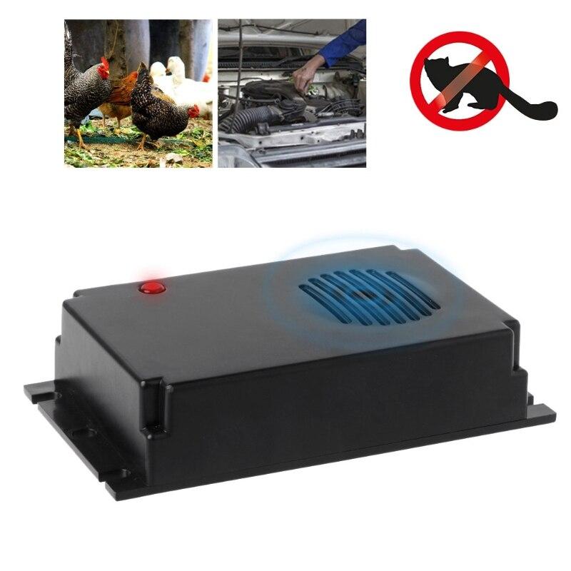 OOTDTY Électronique Mobile Rat Répulsif À Ultrasons Électro Magnétique Conduisez Ravageurs Rat LED Indication