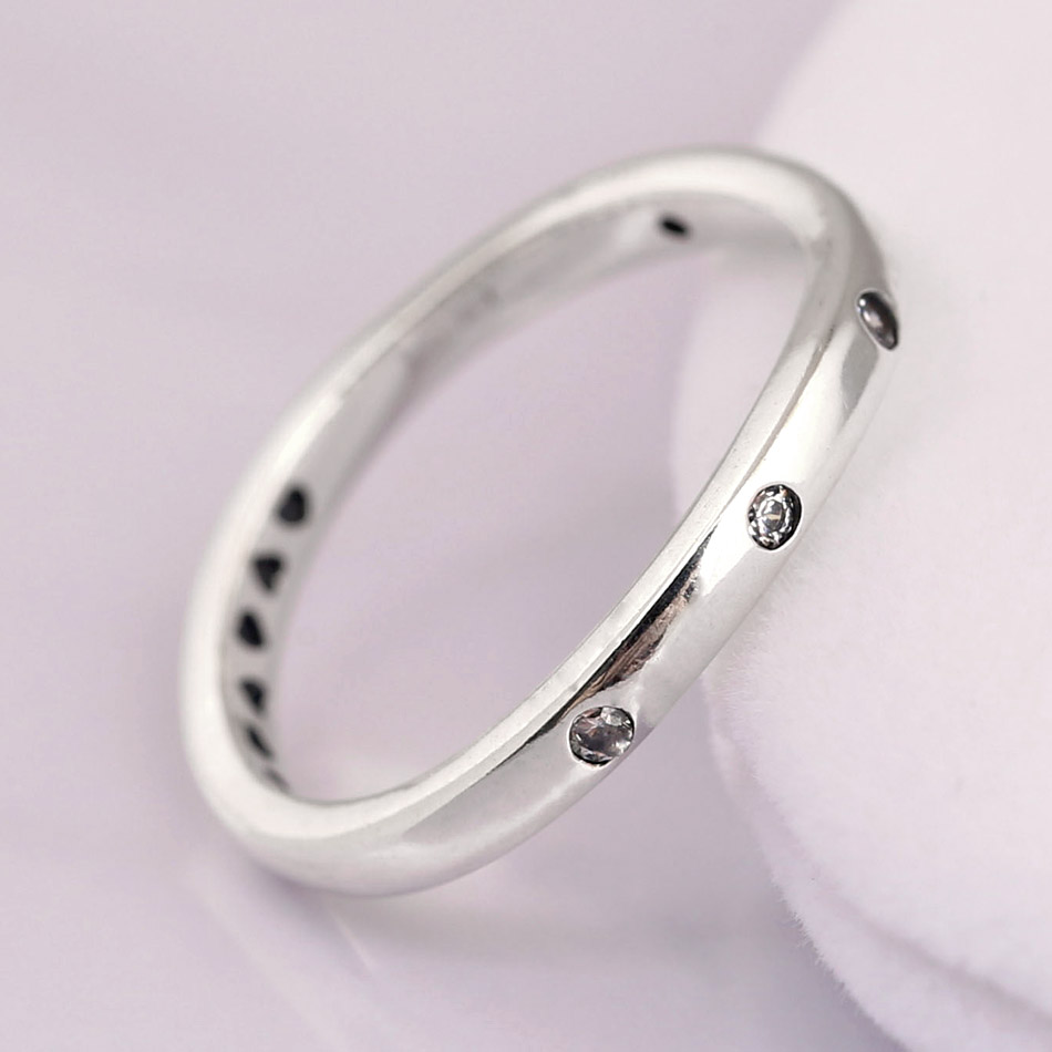 2268eae2a Authentic 925 Sterling Silver Ring SWIRLING DROPLETS with crystal Rings For Women  Wedding Party Gift Fine Diy Jewelry-in Rings from Jewelry & Accessories on  ...