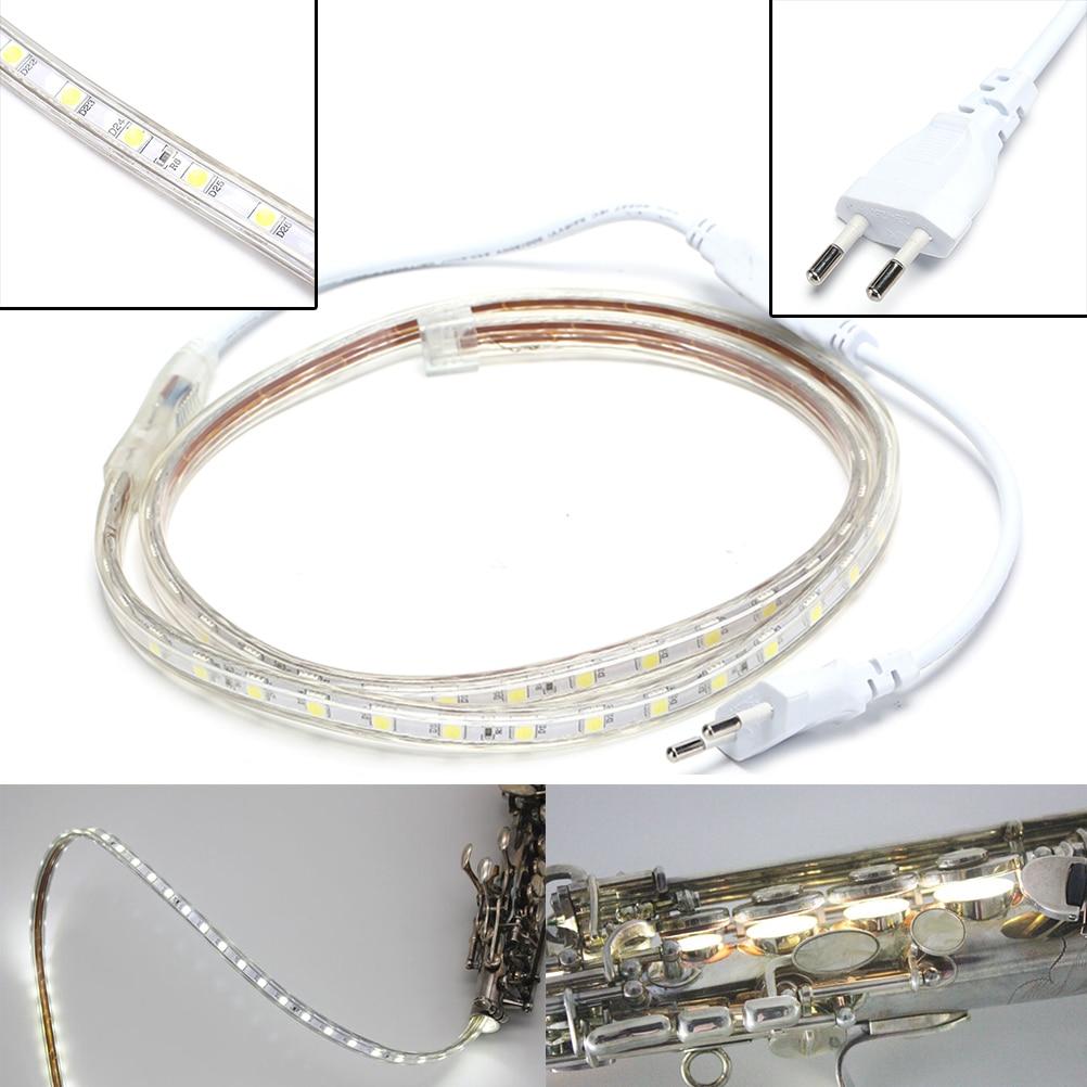 1M 220V 6W Leak Light Repair Tools LED Light For Saxophone Clarinet Woodwind Instruments