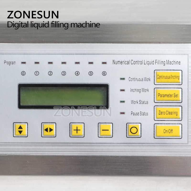 ZONESUN Easy Operation Numerical Control Liquid Mineral Water Juice Perfume  Oil Beverage Bottle Filling Machine On Sale