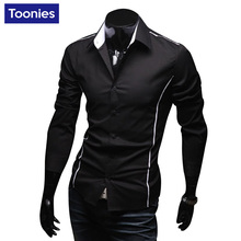 Мужская рубашка New Fashion Brand-clothing Mens