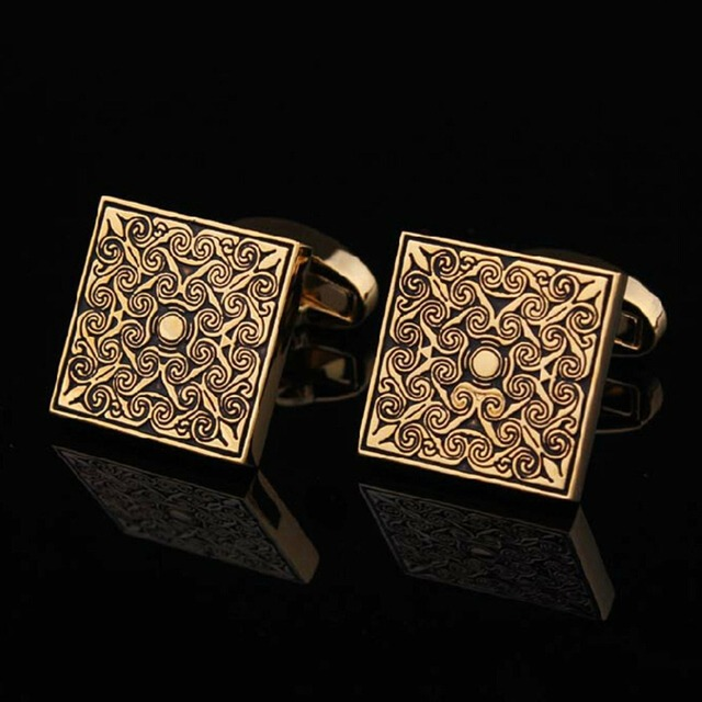 High Quality Men Cuff Links Vintage Mens Wedding Party Gift