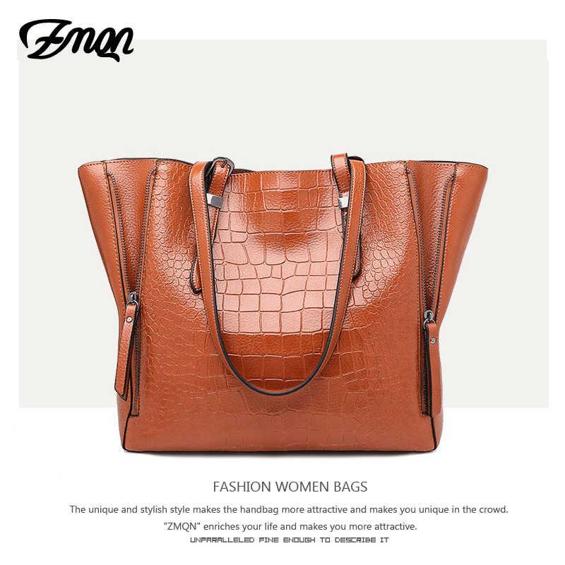 cce556a08509 ... ZMQN роскошные сумки женские сумки дизайнерские PU кожаные сумки на плечо  сумки для женщин 2018 Большие ...