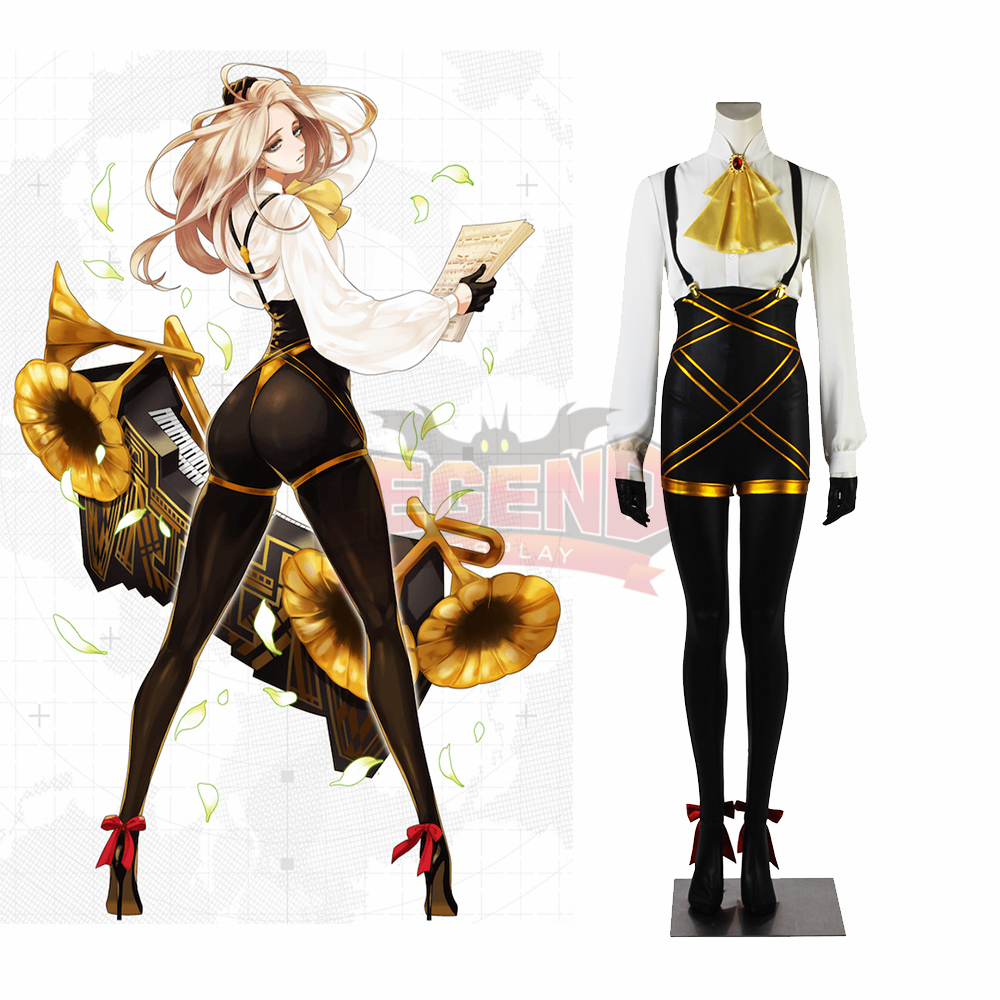 Game #COMPASS Violetta Noire Cosplay costume adult costume full set custom made outfit