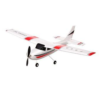 Parkten WLtoys F949 2.4G 3CH Cessna 182 Micro RC Airplane BNF Without Transmitter Outdoor Drone Toy for Ages 14+ Kids Gift